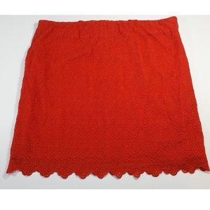 J. Crew lace skirt